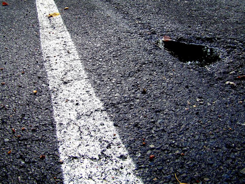 How to successfully make a pothole damage claim