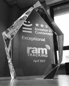 RAM receive top award for Exceptional Customer Service for the second time in 6 months