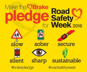 road safety week campaign