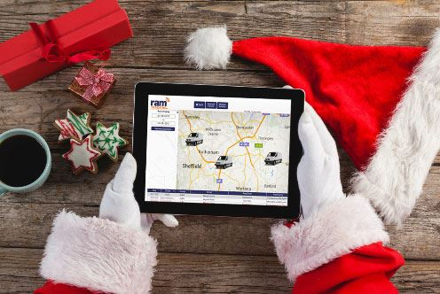Santa's GPS Vehicle Tracking
