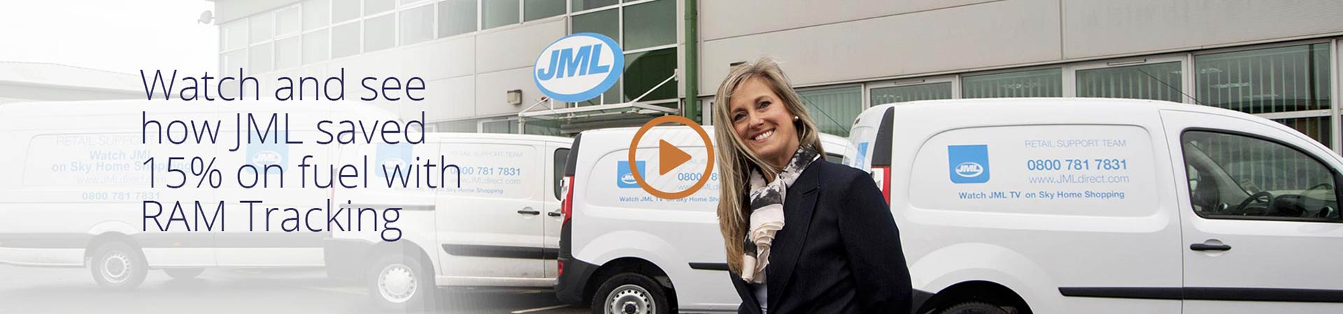 Watch and see how JML saved 15% of fuel with RAM Tracking