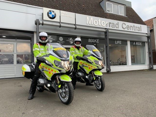 Cumbria Blood Bikes trust RAM Tracking
