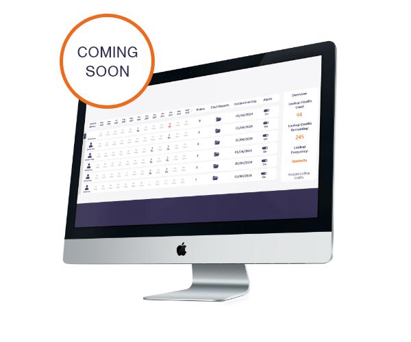 Web Portal - Coming Soon