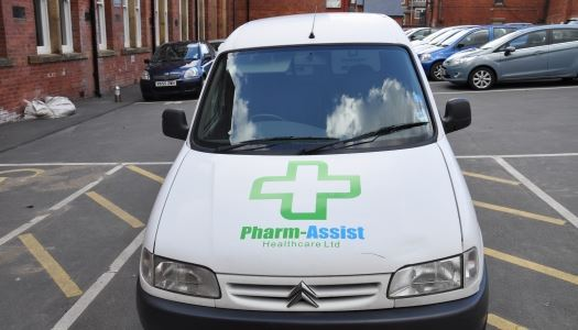Vehicle Tracking for a Pharmacy group
